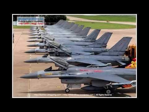 รวมภาพF16 สวยๆกองทัพอากาศไทย