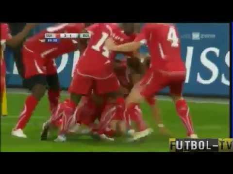 3 tore von Xherdan Shaqiri schweiz-bulgarien 3-1  Albanian power switzerland -bulgaria 3-1