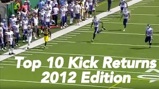 CFL Top 10 Kick Return Touchdowns of 2012
