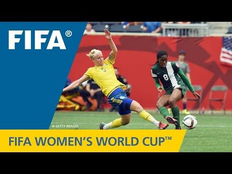 HIGHLIGHTS: Sweden v. Nigeria  FIFA Women's World Cup 2015