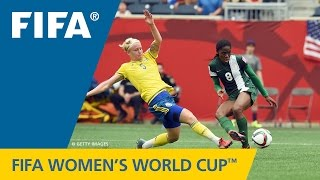 Download HIGHLIGHTS: Sweden v. Nigeria - FIFA Women's World Cup 2015 Mp3 and Videos