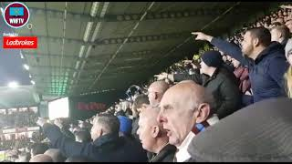 'You destroyed our f*cking club!' West Ham fans singing against the Board at Watford 2 - West Ham 0