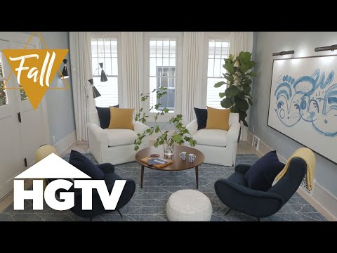 hgtv design ideas living room blinds for windows decorate your every season youtube