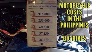 BIG BIKES. Motorcycle prices in the Philippines.