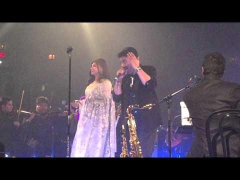 Kumar Sanu Alka Yagnik Houston Concert April 9 2016 - Ghunghat Ki Aadh