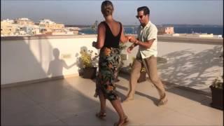 50s Jiving / Rockabilly Jive Dance / RocknRoll Dance / Rooftop (Lisa \u0026