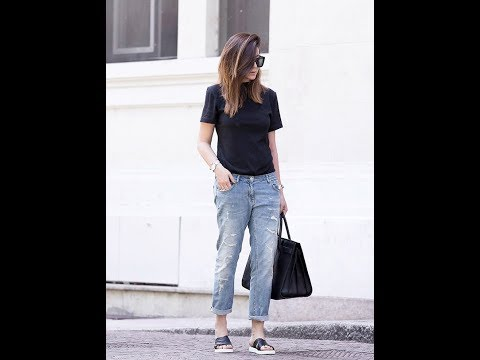 Casual jeans and tshirt outfit. http://bit.ly/2WCYBow