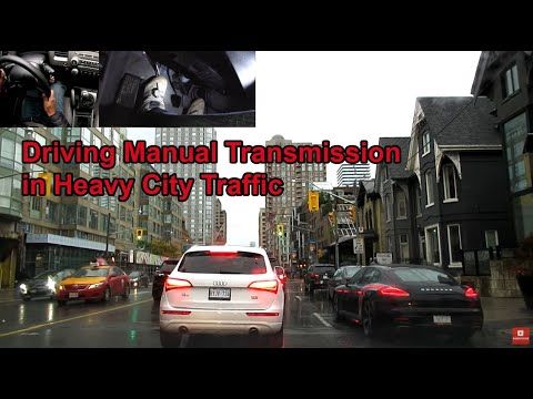 Driving Manual Transmission in Heavy City Traffic