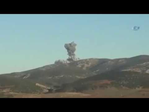 İlk Görüntüler Afrin Uçaklarla...