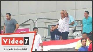 شاهد الصدمة تظهر علي مدير نادي الزمالك بعد إحراز أجاي هدف الأهلى الثانى - AHLY07.com
