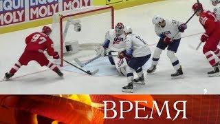 Сборная России по хоккею сыграет в полуфинале чемпионата мира.