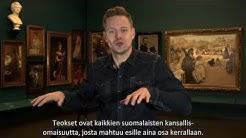 Ateneumin esittely suomalaisella viittomakielellä