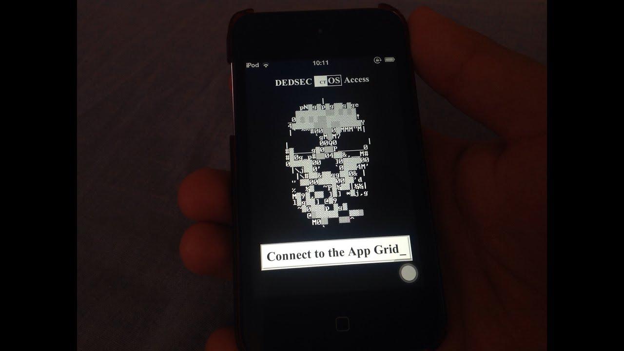 Iphone 4s Default Wallpaper Dedsec Ctos Access Ios App Youtube