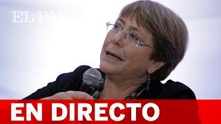 #DIRECTO COP25 | GRETA THUNBERG comparece junto a MICHELLE BACHELET