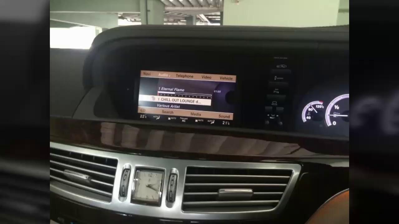 Repair mercedes-benz Comand Screen radio