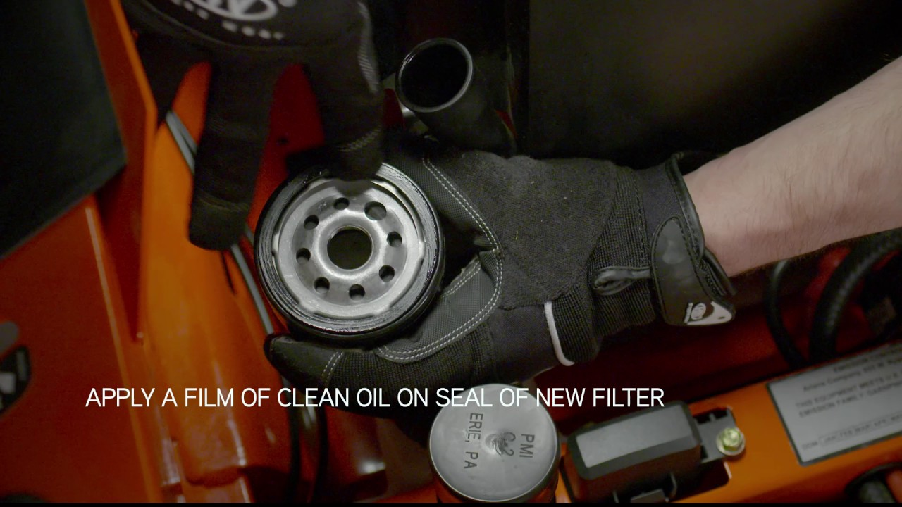 How to Change IKON X Kohler Engine Oil | Ariens®