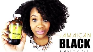 NATURAL HAIR | JAMAICAN BLACK CASTOR OIL for Hair Growth