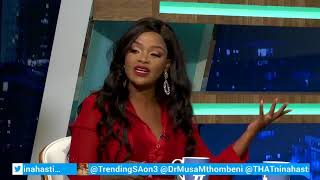 Trending SA 02 August 2018 #TSAon3 Segment 4: Interview with Nonhle Thema