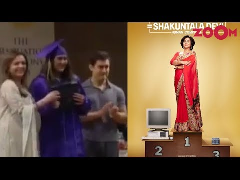 Sara's throwback video from her graduation | Vidya Balan's FIRST LOOK as Shakuntala Devi released Mp3