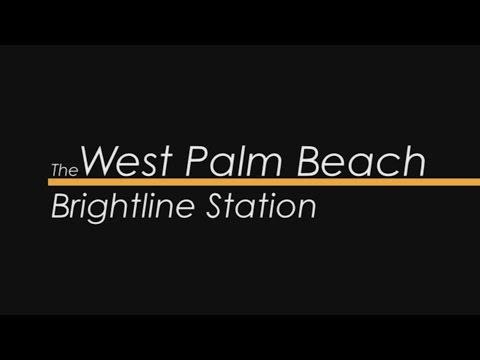 The West Palm Beach Brightline Station Module