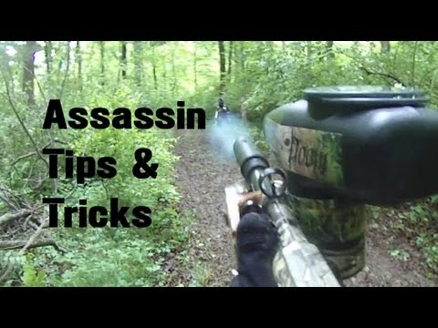 Paintball Sniper Assassin Ninja Tips & Tricks Scenario Woodsball COD Trails of Doom HD