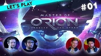 [1/5] Let's Play Master of Orion 2v2 Multiplayer-Special | Tim & Marco vs Eduard & René | 11.03.2016