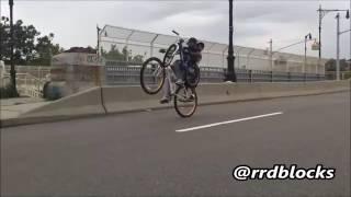 Vc acha que sabe empinar de bike |julio do grau|