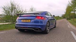 430HP Audi TT-RS w/ Milltek Non Resonated Catback Exhaust!