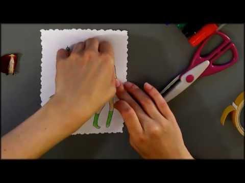 видео: Как Сделать Открытку Своими Руками С Днем Рождения  / paper gift ideas, how to make paper gift card