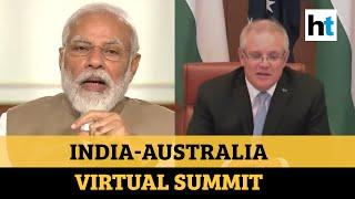 'Perfect time to extend ties': PM Modi & Australian PM hold virtual summit