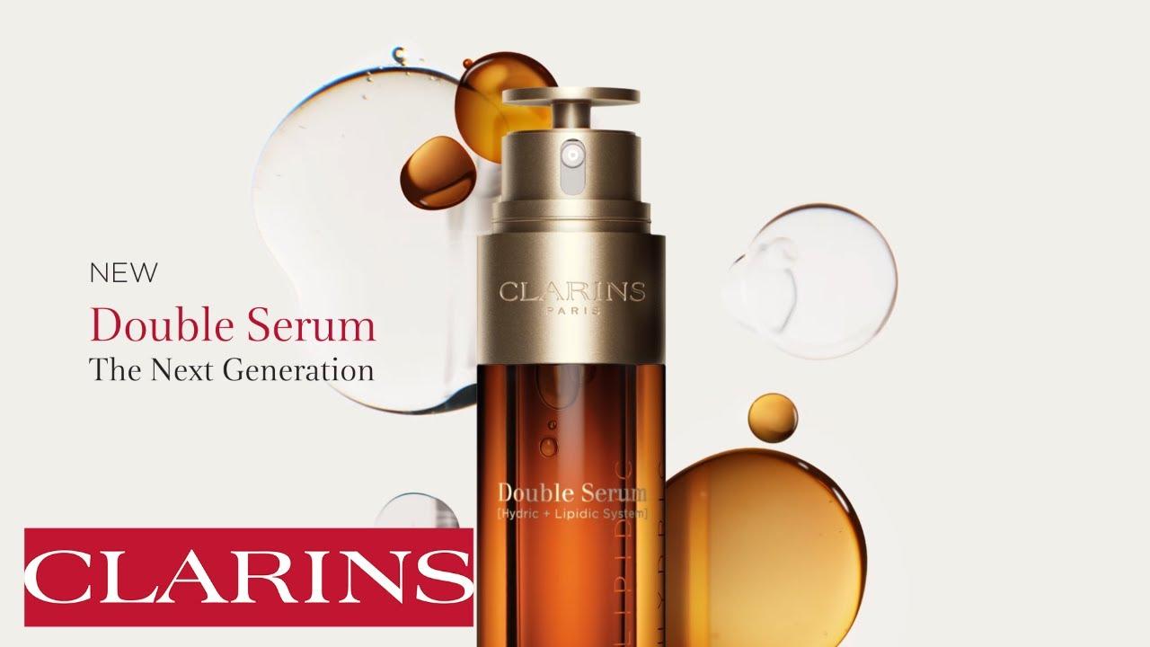 ผลการค้นหารูปภาพสำหรับ New CLARINS Double Serum