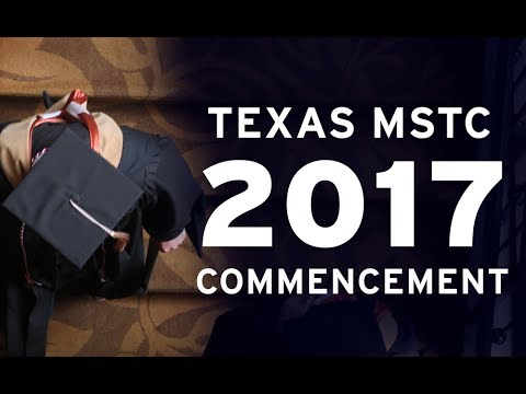 2017 Texas MSTC Convocation Ceremony