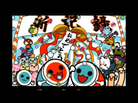 【PS2 Taiko no Tatsujin】minigame Bossdon marathon +BONUS