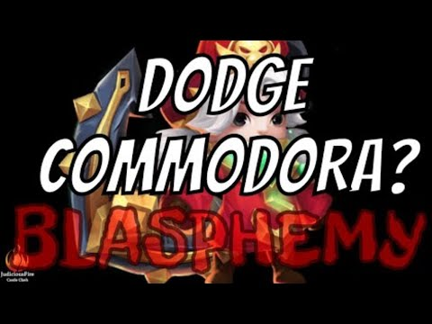 Commodora Returns To Castle Clash!