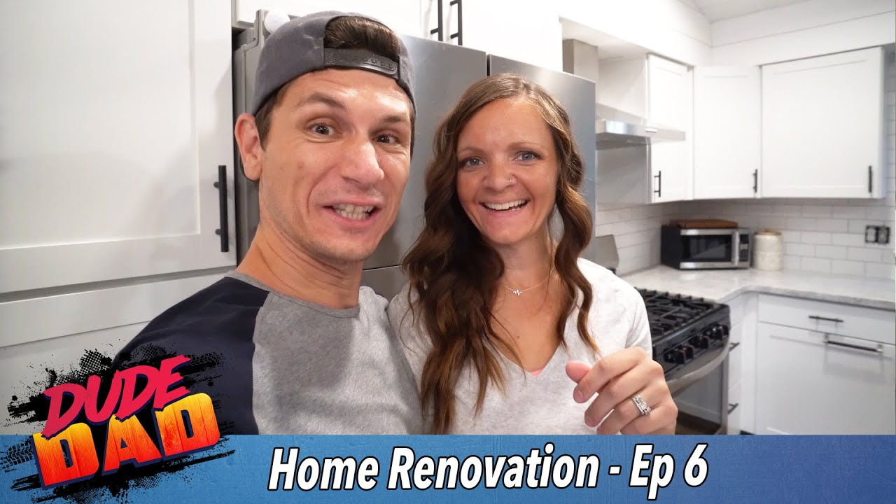 Our finished kitchen! - Our Home Renovation - Ep. 6