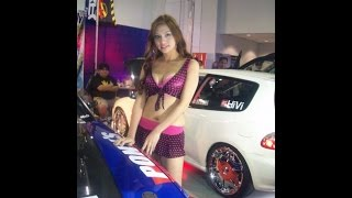 Compilation of gorgeous carshow models in Manila!!
