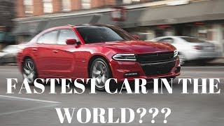 Fastest V6 in the world??? 0 to 60 times / Uconnect 2017 Update Review...