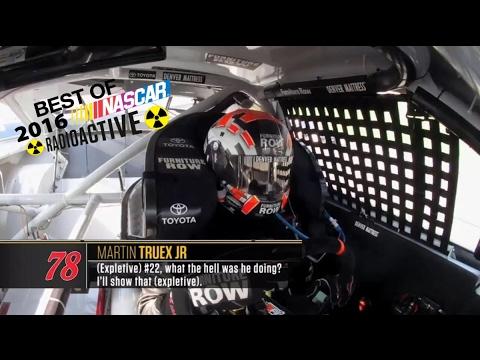 Best Of 2016 NASCAR Radioactive (Part 1)