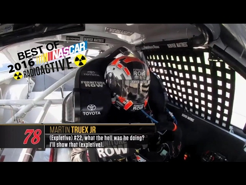 Best Of 2016 NASCAR Radioactive (Part 1)