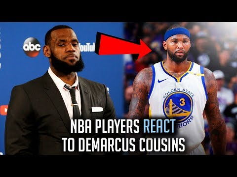 NBA Players REACT To Demarcus Cousins JOINING The Warriors!