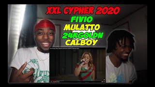 Fivio Foreign, Calboy, 24kGoldn and Mulatto's 2020 XXL Freshman Cypher - REACTION