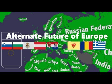 Alternate Future of Europe #2 [Collab with Dutch HD Mapping]