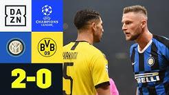 Verdiente Pleite für harmlosen BVB: Inter - Dortmund 2:0   UEFA Champions League   DAZN Highlights