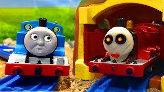 Thomas&Friend 【Tunnel with a ghost train】きかんしゃトーマス おばけ電車