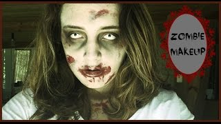 Halloween 1 / maquillage zombie !! Thumbnail