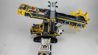 LEGO Technic Set 42055 Schaufelradbagger - Unboxing & Review (deutsch)