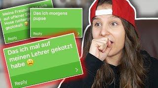 Ich reagiere auf EURE BEICHTEN ! (Zuschauer Beichten )  - Celina