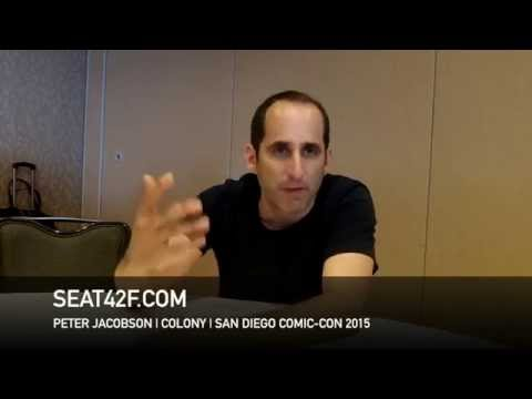 Peter Jacobson COLONY Comic Con 2015 Interview