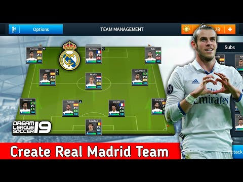 Dream League Soccer 2019 | How To Make Real Madrid New Kits & Logo 2019/2020 Dream League Soccer is .