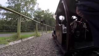 7 ¼ Cackler & Slate Train - Echills Wood Railway Narrow Gauge Weekend 2014